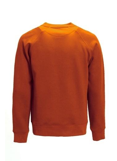 Lufian Star Sweatshirt Turuncu Oranj